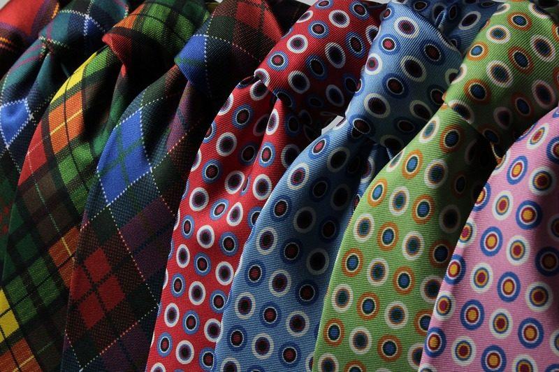 галстуки госслужащих