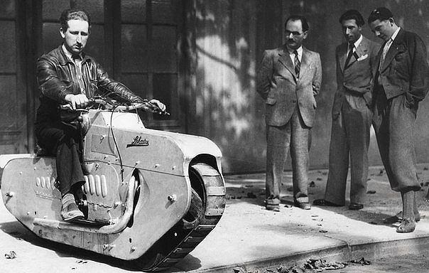 мотоцикл на гусеничном ходу 1939