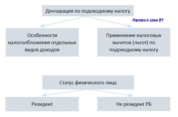 принципы представления декларации физического лица